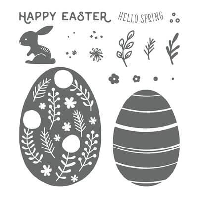 Stempelset Hello Easter